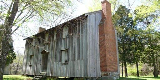 Cultural Site Visit: Stagville Plantation (September 19 at 9:00 AM)