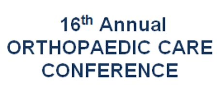 Orthopaedic Care Conference 2019 tickets