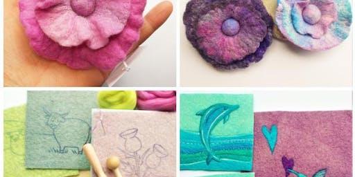 Fun Felt Making Workshop with Aileen Clarke Crafts
