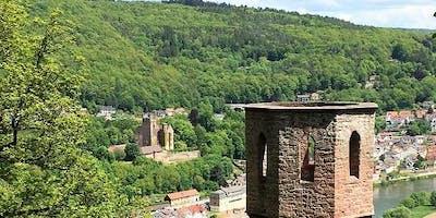 Sa/So,26.10.19 Romantische Burgentour in Heidelberg am Neckar für 40+