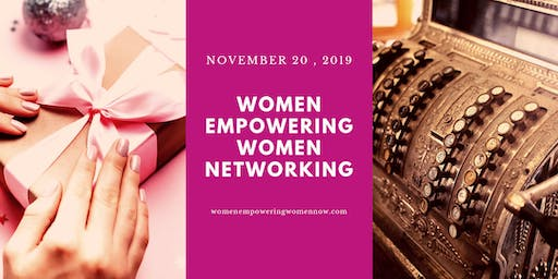 Women Empowering Women Networking November 2019