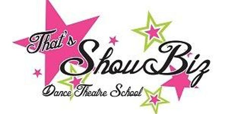 4 Week Session Broadway Babies Sing & Dance Class ages   2-4  8/29-9/19 $38 tickets