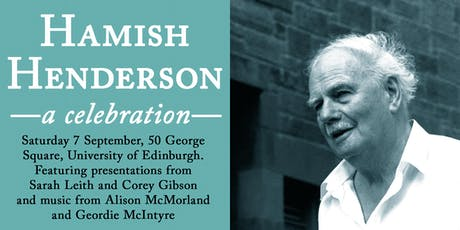 Hamish Henderson: a celebration tickets