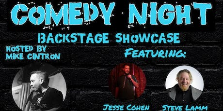Comedy Night: Backstage Showcase tickets
