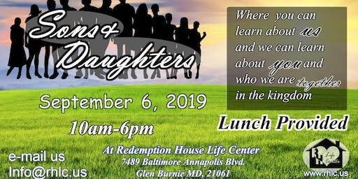 Sons and Daughters September 2019