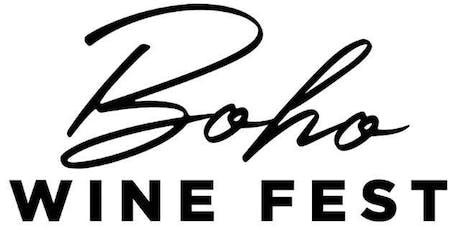BOHO Wine Fest tickets