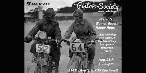 Women Riders Happy Hour