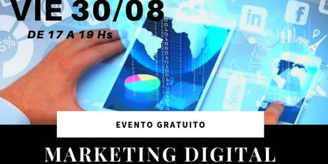 "CURSO ""MARKETING DIGITAL"" entradas"