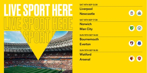 Sport at the Albany - Premier league
