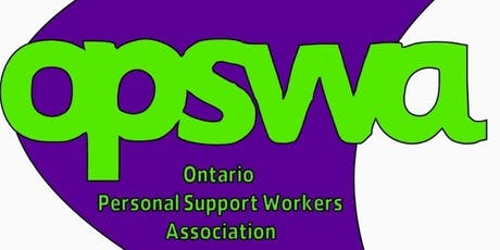 The OPSWA Supporting Frontline PSW Nations Capital Conference tickets