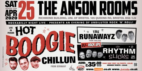 Hot Boogie Chillun + Special Guests tickets