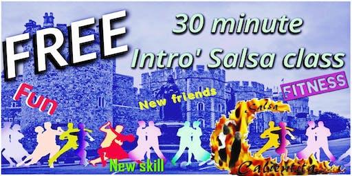 FREE Salsa Intro class