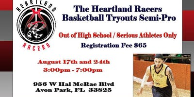 Heartland Racers Semi-Pro Basketball Tryouts