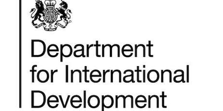 Lunch and Learn: DFID Perspectives on Safeguarding & Compliance tickets