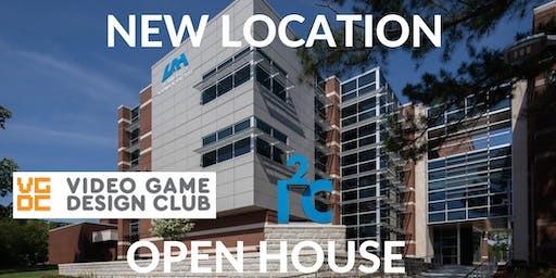 Video Game Design Club: NEW UAH LOCATION Open House