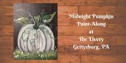 Midnight Pumpkin - The Livery Paint-Along