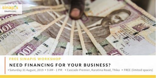 Need Financing For Your Business? (Free Workshop)