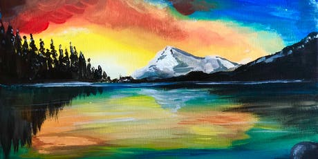 Big Bear Sunset Sip and Paint tickets
