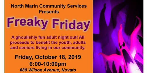 Freaky Friday 2019 - A Ghoulishly FUNdraiser