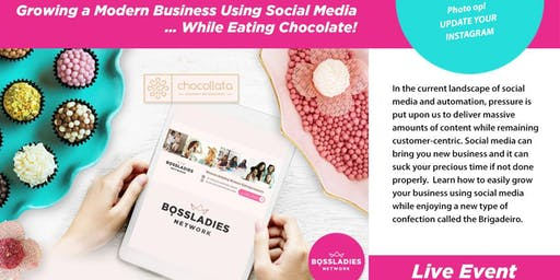Boss Ladies Growing Modern Business w/ Social Media While Eating Chocolate