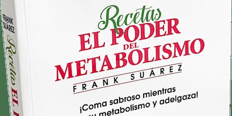 Presentación Libro Recetas El Poder del Metabolismo tickets