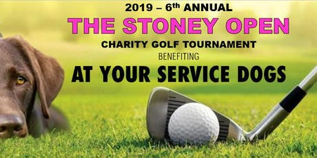 2019 - The Stoney Open Charity Golf Tournament for 'At Your Service Dogs' tickets
