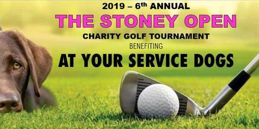 2019 - The Stoney Open Charity Golf Tournament for 'At Your Service Dogs'