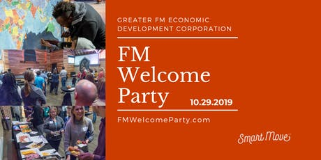 FM Welcome Party- October 29, 2019 tickets