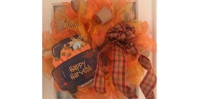 Happy Fall Y'all Wreath Making Workshop