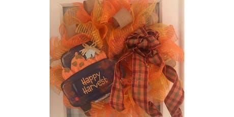 Happy Fall Y'all Wreath Making Workshop tickets