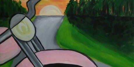Harley Davidson Paint N' Sip tickets