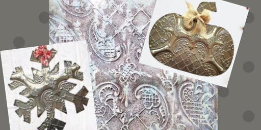 Embossed Metal Door Hangers