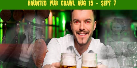 Haunted Pub Crawl - Chattanooga tickets