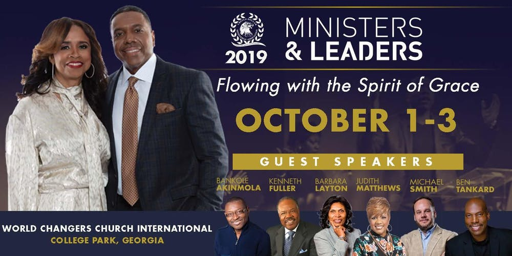 Ministers and Leaders Conference 2019 with Creflo & Taffi