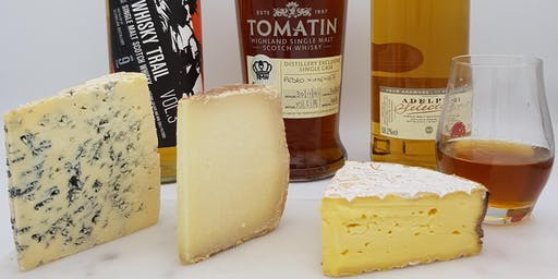 """Fine Cheese & Great Whisky"" - Tutored Tasting Evening"