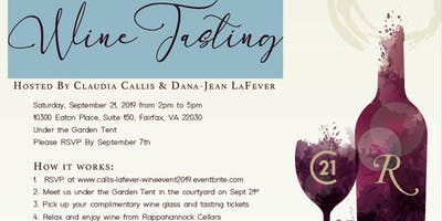 Dana-Jean LaFever and Claudia Callis Client Appreciation Wine Tasting