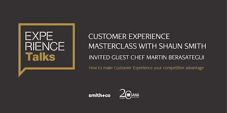 Experience Talks. Customer Experience Masterclass. tickets