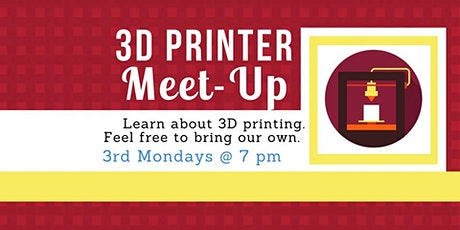 3D Printing Meetup tickets