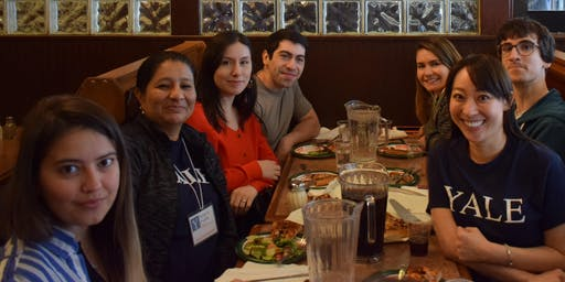 ISPY Orientation - Lunch at Yorkside Pizza
