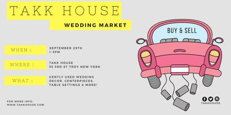 Takk House Wedding Market tickets