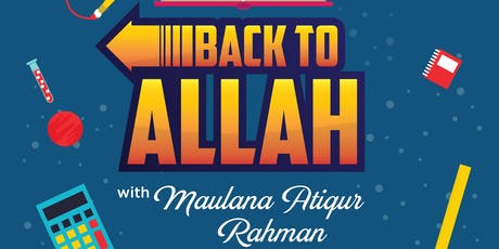Back to Allah tickets