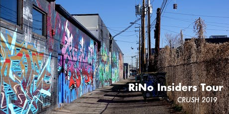 RiNo Insiders Tour: CRUSH Edition tickets