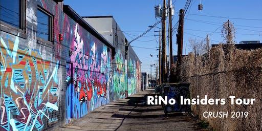 RiNo Insiders Tour: CRUSH Edition