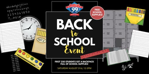 Back to School Event @ Marketplace 99!