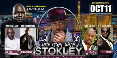ONE NIGHT W/ STOKLEY ...A 'MEN OF VOCALS EXPERIENCE' tickets