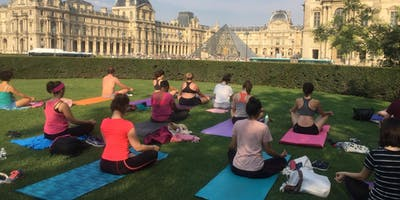 Vinyasa Yoga in Jardin des Tuileries (Class is in