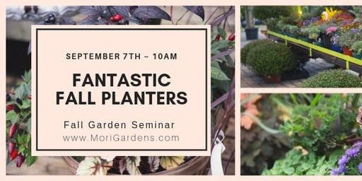 Fantastic Fall Planters: Fall Garden Series #GROWniagara