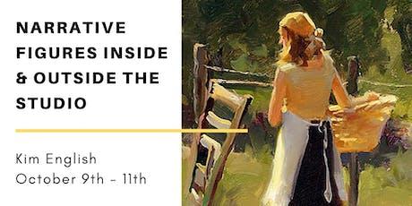 Art Workshop: Narrative Figure Painting Inside & Outside the Studio tickets