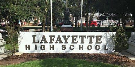 Lafayette High School Class of 2009 10-year Reunion tickets