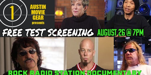 Free Screening: Exclusive Rock Radio Station Documentary